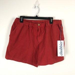 """Chubbies Original Shorts Grateful Reds 5.5"""" XL"""